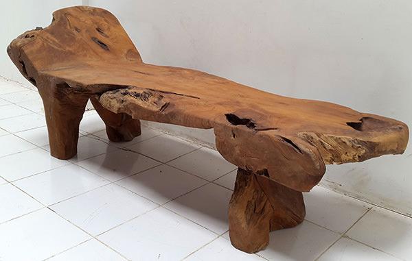 natural root teak furniture