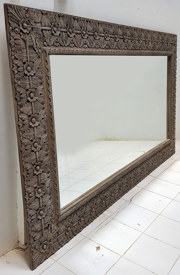long carved mirror
