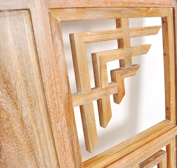 wooden partition panel