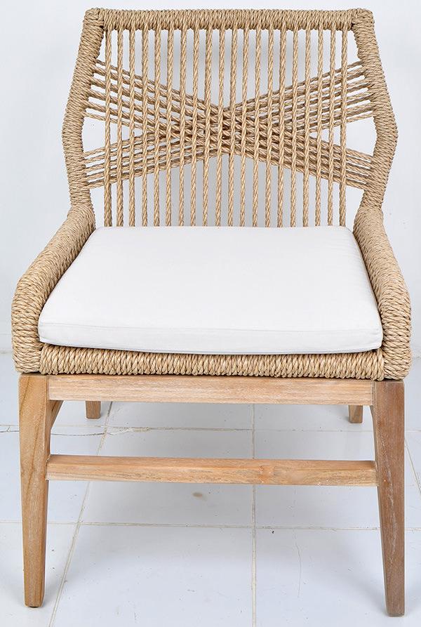 Danish garden chair