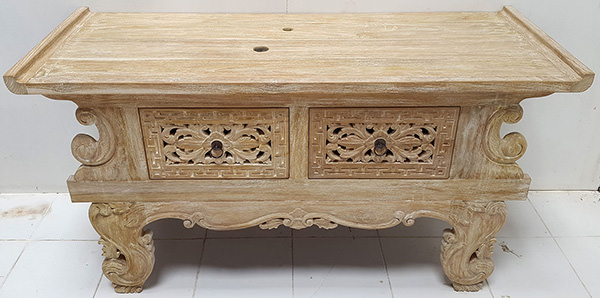 chinese wooden console