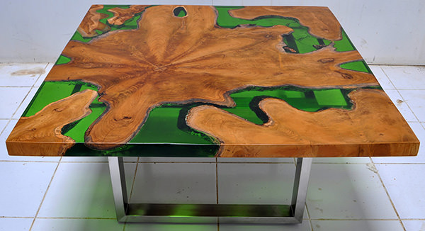 square table from Indonesia