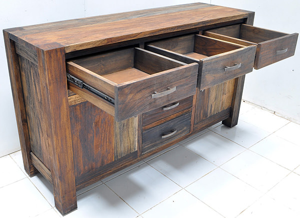 reclaimed teak buffet