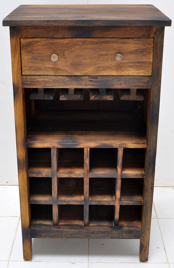 teak wine cabinet furniture manufacturing