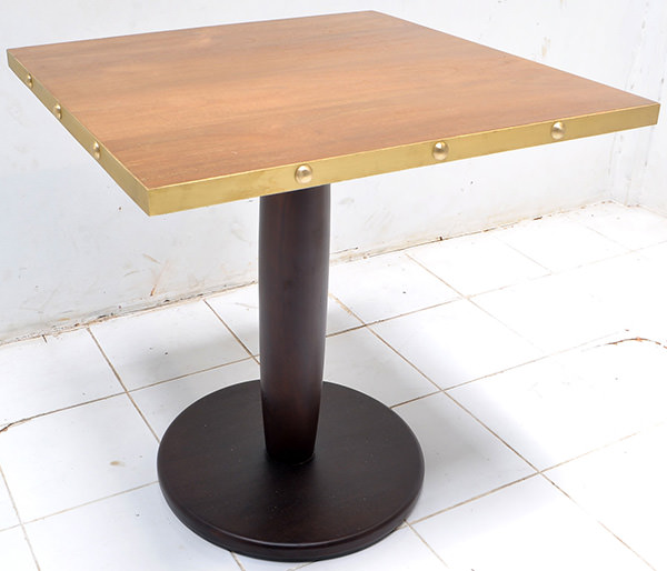 restaurant square dining table
