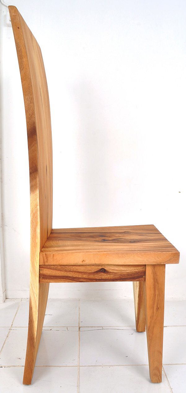 Solid Suar wooden chair with no lamination