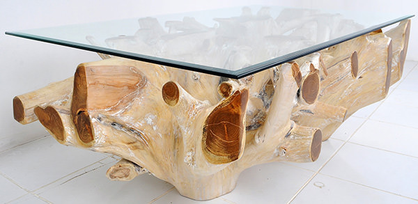 square root coffee table