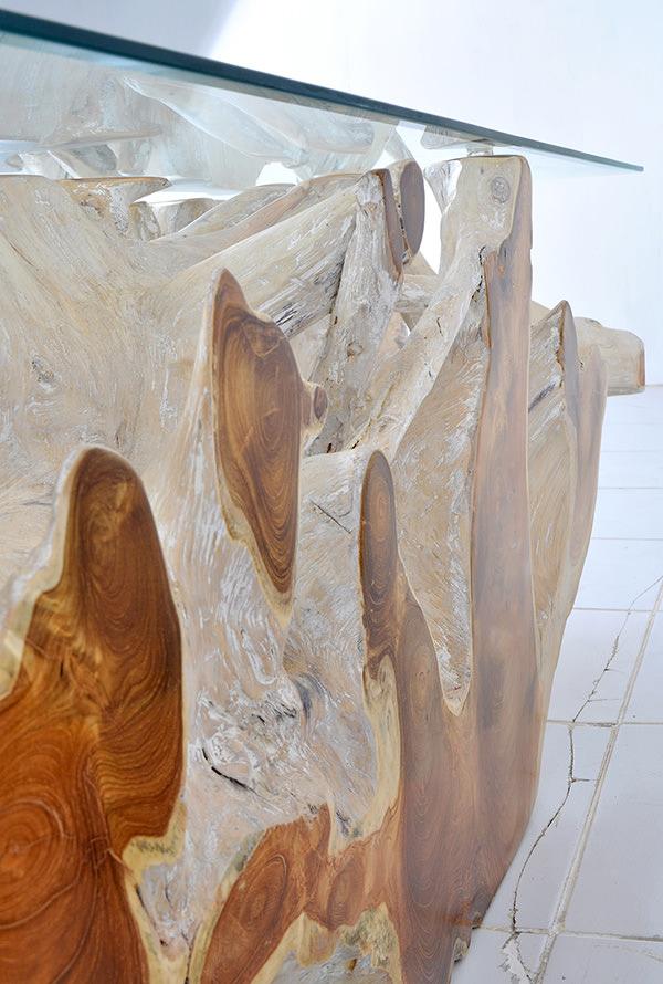 natural teak wood
