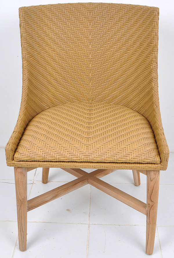 Scandinavian outdoor armchair