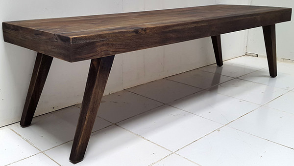 scandinavian indoor antique teak table