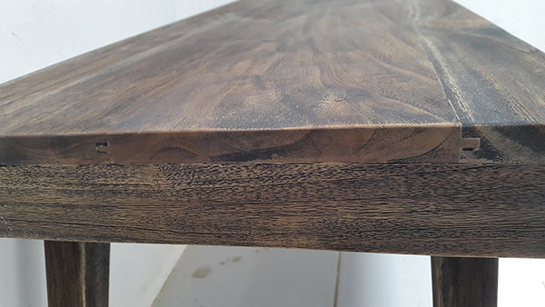 indoor burnt wood furniture finishing