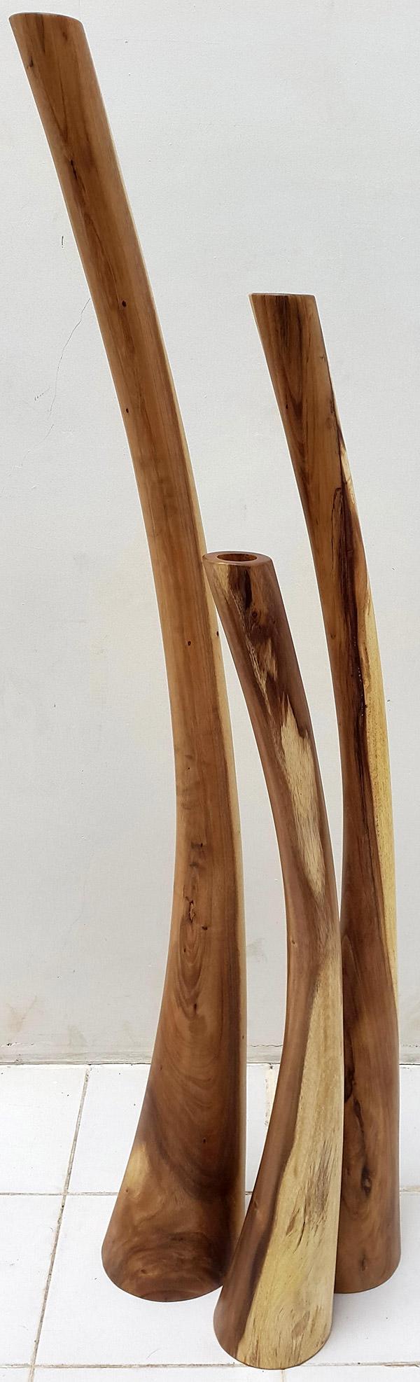 wooden standing deco