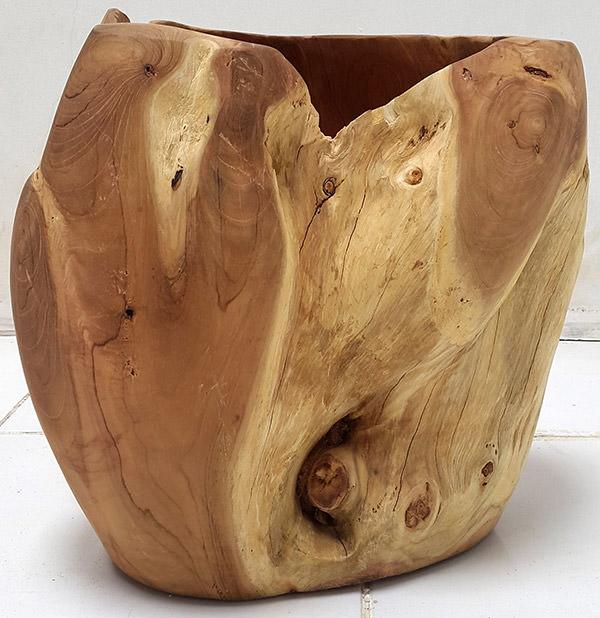 solid wood pot