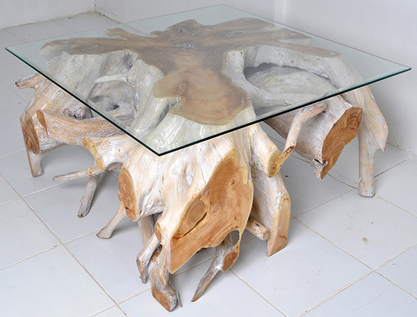 natural roots furniture coffee table