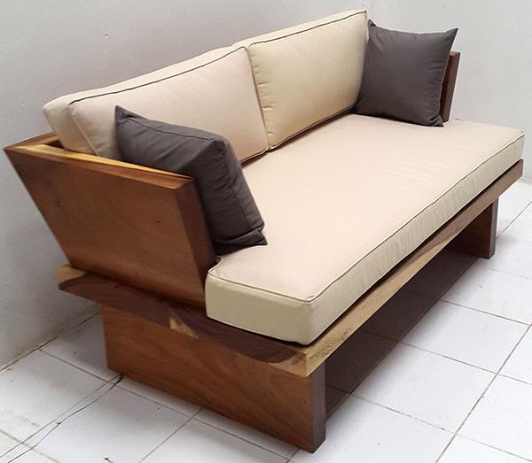 suar wooden sofa
