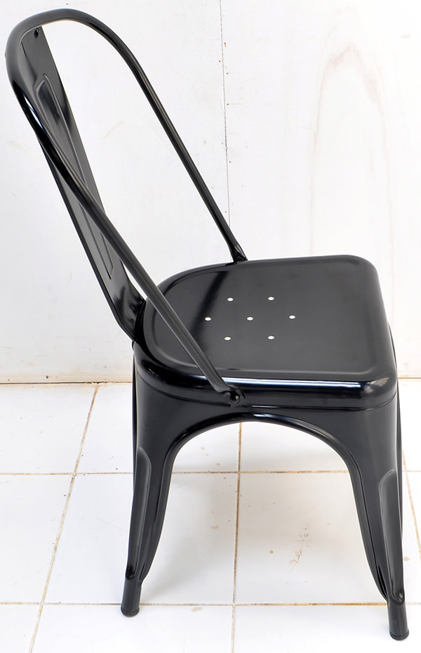 Classic iron dining chair