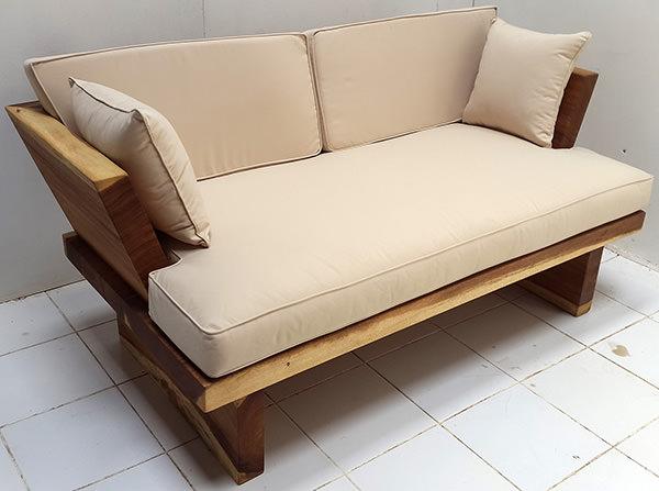 suar wood sofa