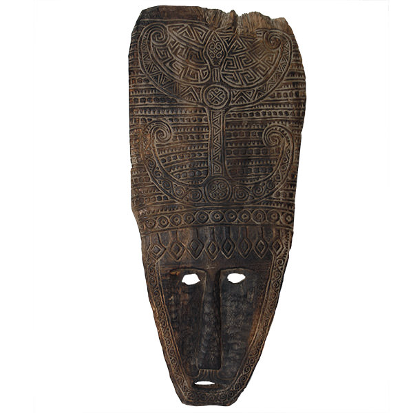 papuan art mask