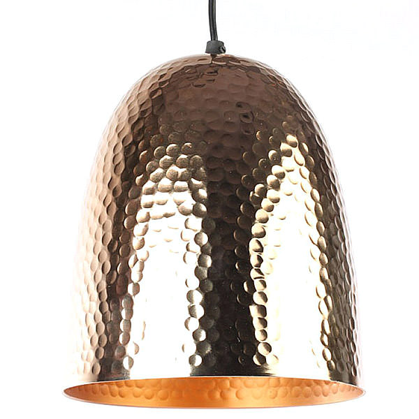 copper lamp with a natural color