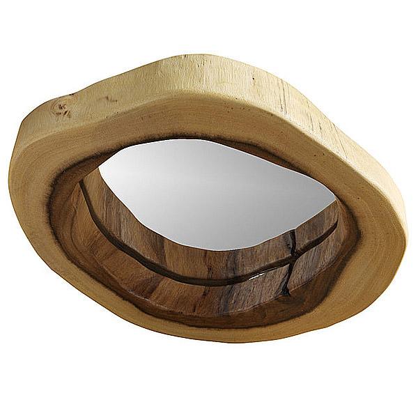 Miroirs en bois fabricant d 39 accessoires de maison for Gros miroir rond