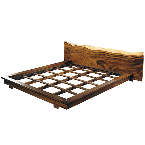 Suar bed frame wholesale