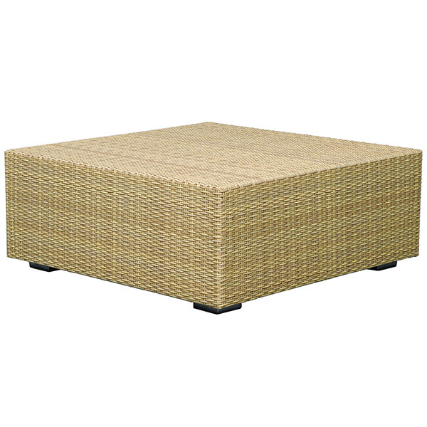 rattan coffee table square 2