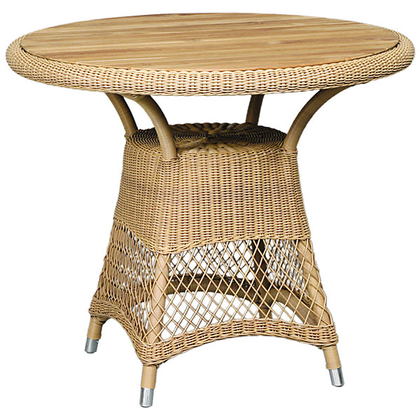 synthetic rattan dining table