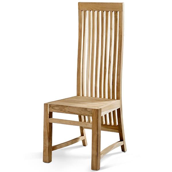 natural Teak chairs