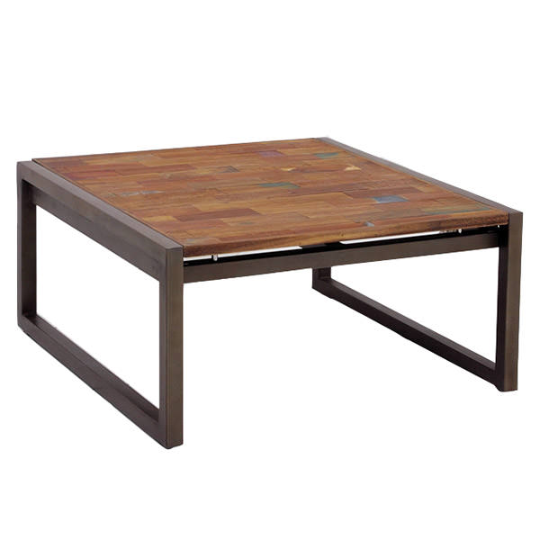 teak wood table. Metal And Wood Coffee Table Teak D