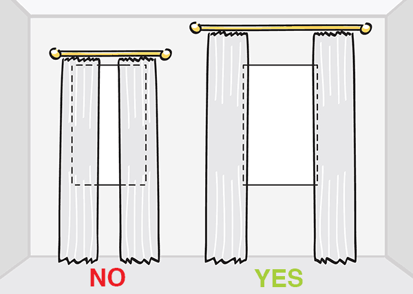 10 Tips To Choose The Perfect Curtains, How To Pick Curtain Length