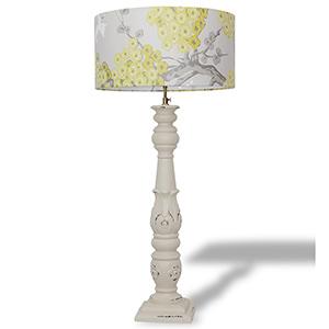 mahogany standing lamp