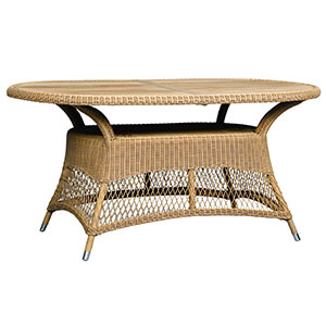 polyrattan table