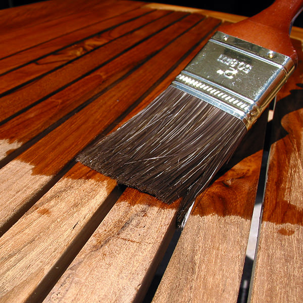 Beautiful Oil Teak With Brush
