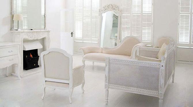 full-white interior design